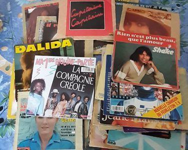 disques 33 et 45 tours... 15 Lyon 7 (69)
