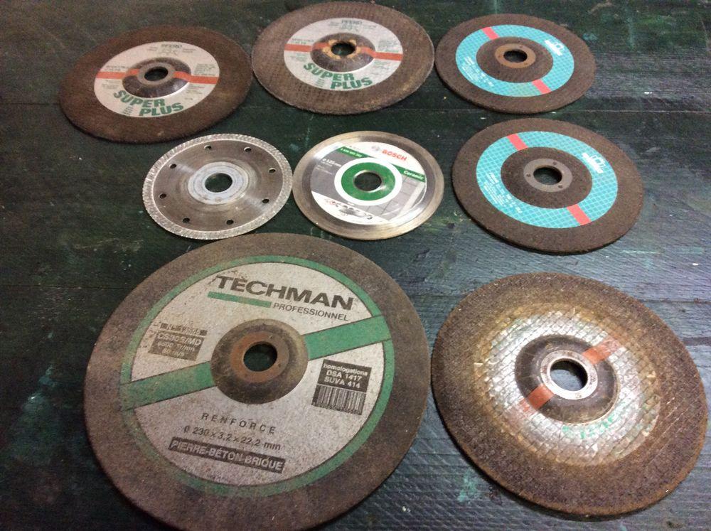 disques à tronçonner les matériaux  15 Moussy-le-Vieux (77)