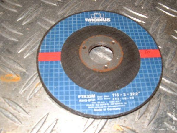 2 Disques à tronçonner RHODIUS Acier 115 x 3mm 2 Farschviller (57)