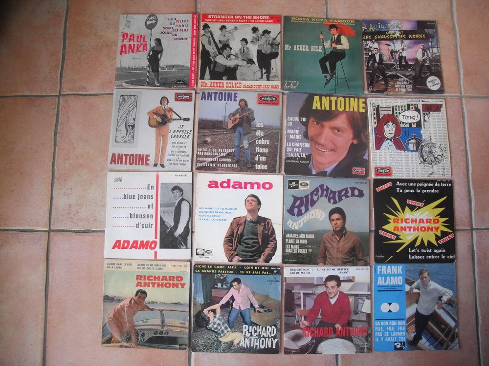 disques vinyles 45t année 60 3 Quillan (11)