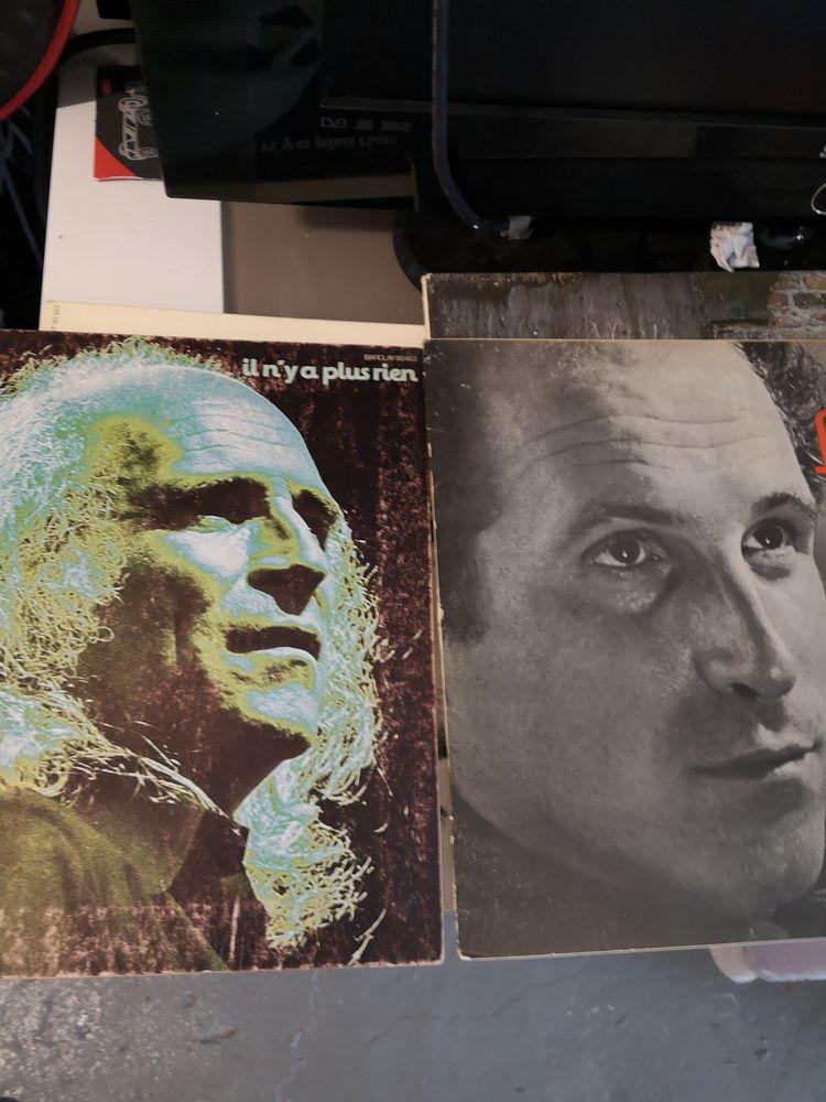 disques vinyles Léo ferré Brel etc Occasion CD et vinyles