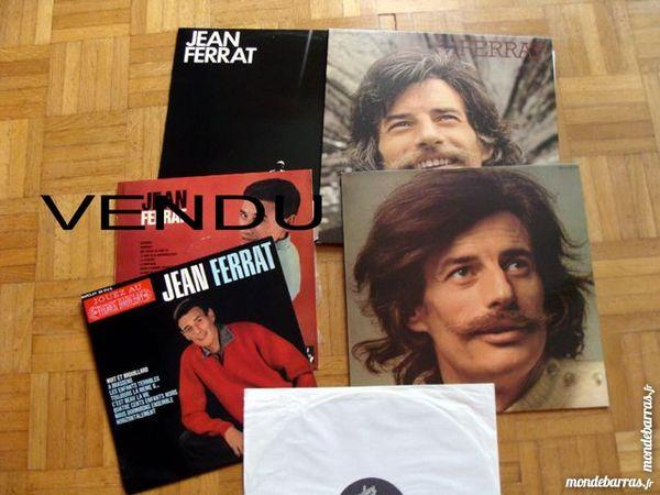 4 disques vinyles JEAN FERRAT + 1 cadeau 15 Antony (92)
