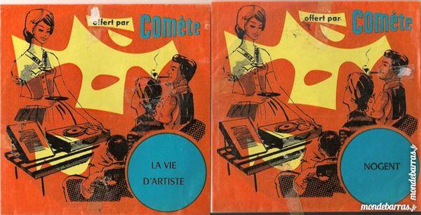 Disques Vinyles publicitaire lessive COMÈTE 10 Paris 14 (75)