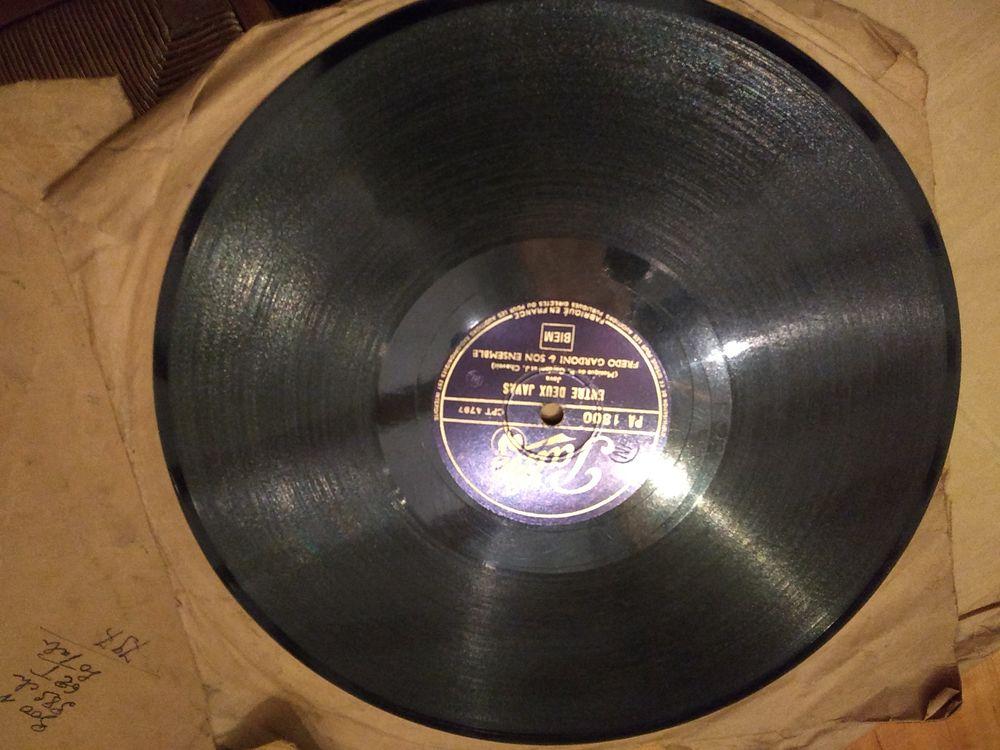 Disques vinyles 78 tours Audio et hifi
