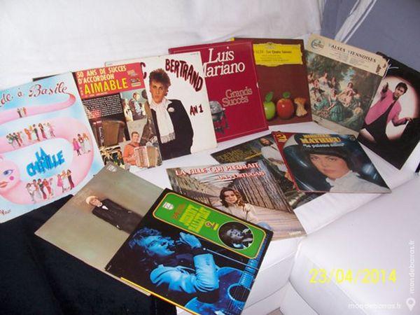 Disques vinyls 33 tours aux choix 1 Les Églisottes-et-Chalaures (33)