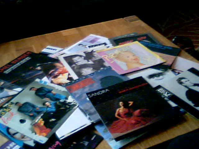 Disques vinyls 45 tours 180 Mâcon (71)
