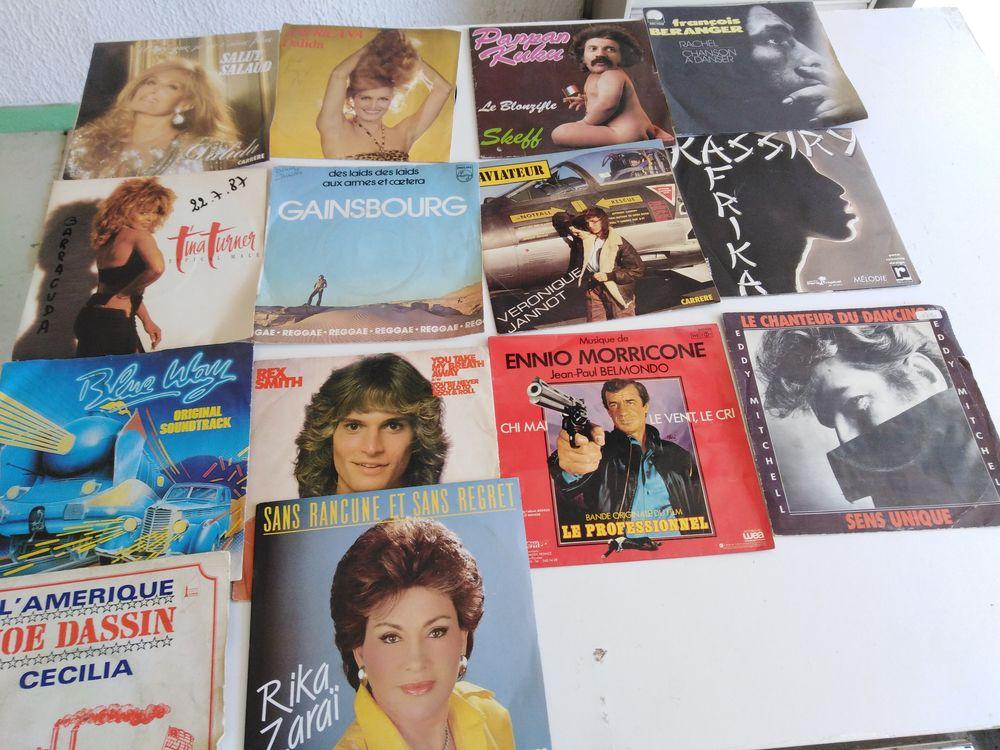 Disques vinyls 33 et 45 tours 70 Macornay (39)
