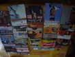 lot de disques vinyls CD et vinyles