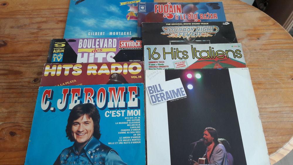 24 disques 33 t 50 Digne-les-Bains (04)