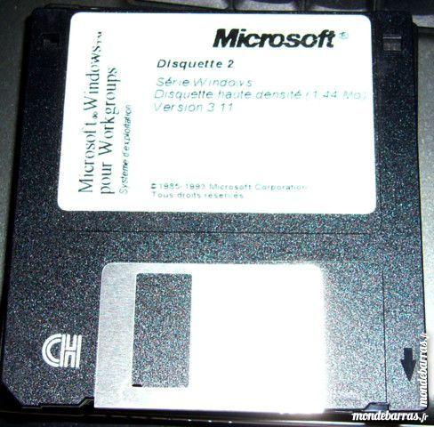 disquettes d'installation MS-DOS et Windows 10 Versailles (78)