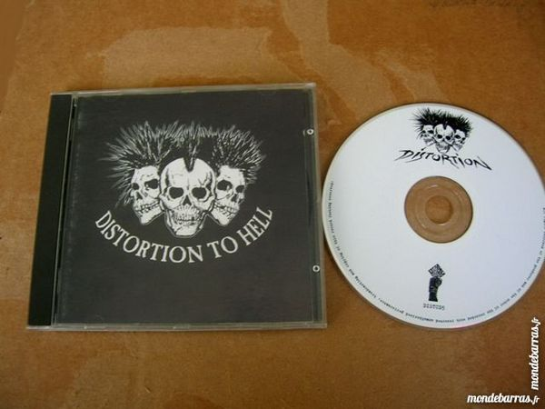 CD DISTORTION TO HELL Various - Compilation Punk 25 Nantes (44)