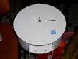 distributeur de papier toilette WC métal de marque  Monflanquin (47)