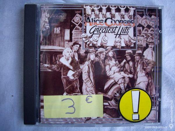 divers CD d'Alice COOPER, AC/DC, Gun's'n Roses 3 Bouxwiller (67)