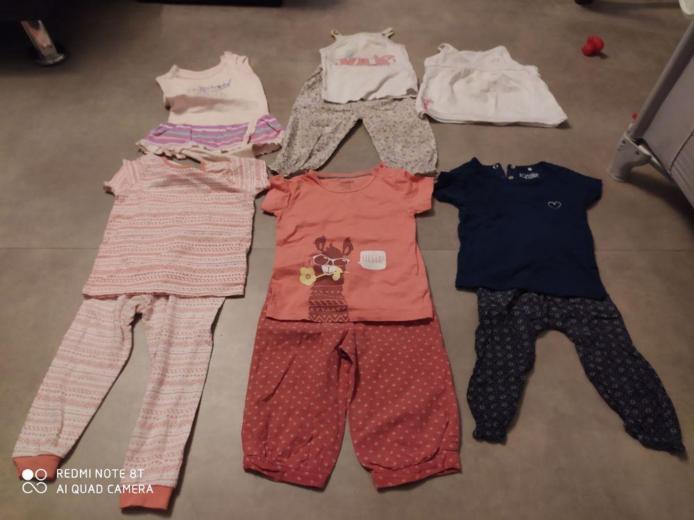 divers ensembles d été pour bébés filles18mois 1 Laneuveville-devant-Nancy (54)