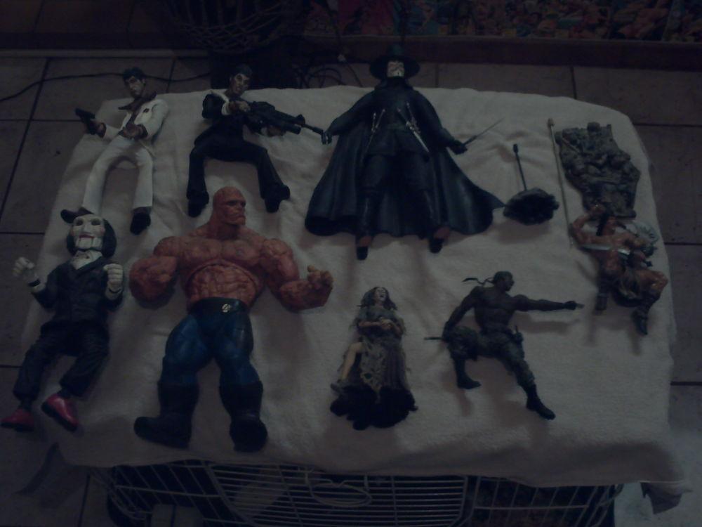 divers figurine de cinema neca mcfarlane et autre
