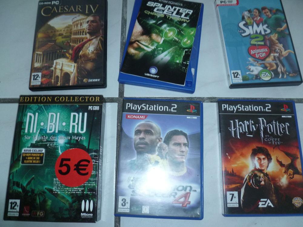 Divers Jeux PlayStation et nintendo ds Consoles et jeux vidéos