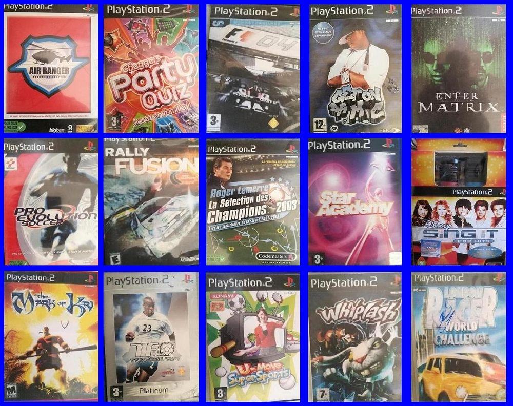 divers jeux video  3 Fréjus (83)