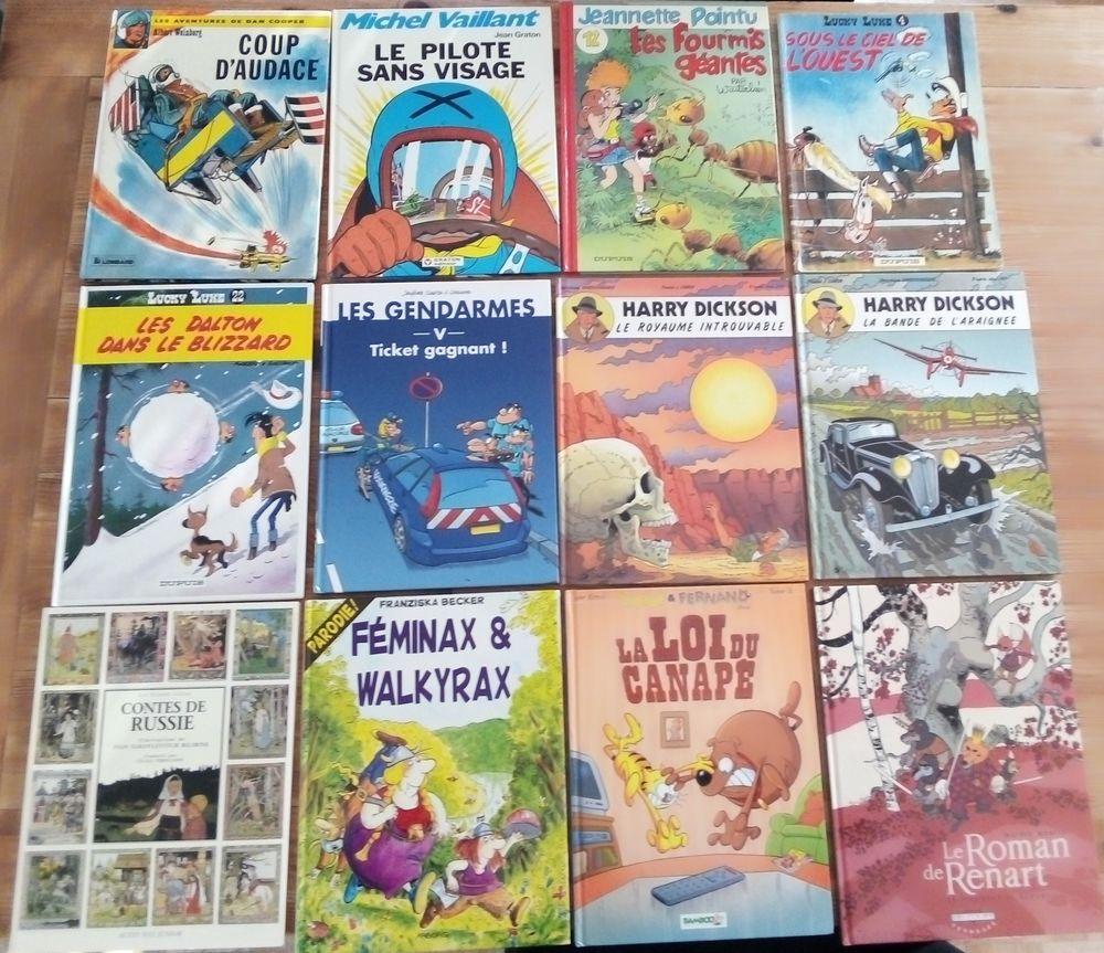 BD Lot (12 t.), divers et un livre de contes russes Bilibine 0 Houilles (78)