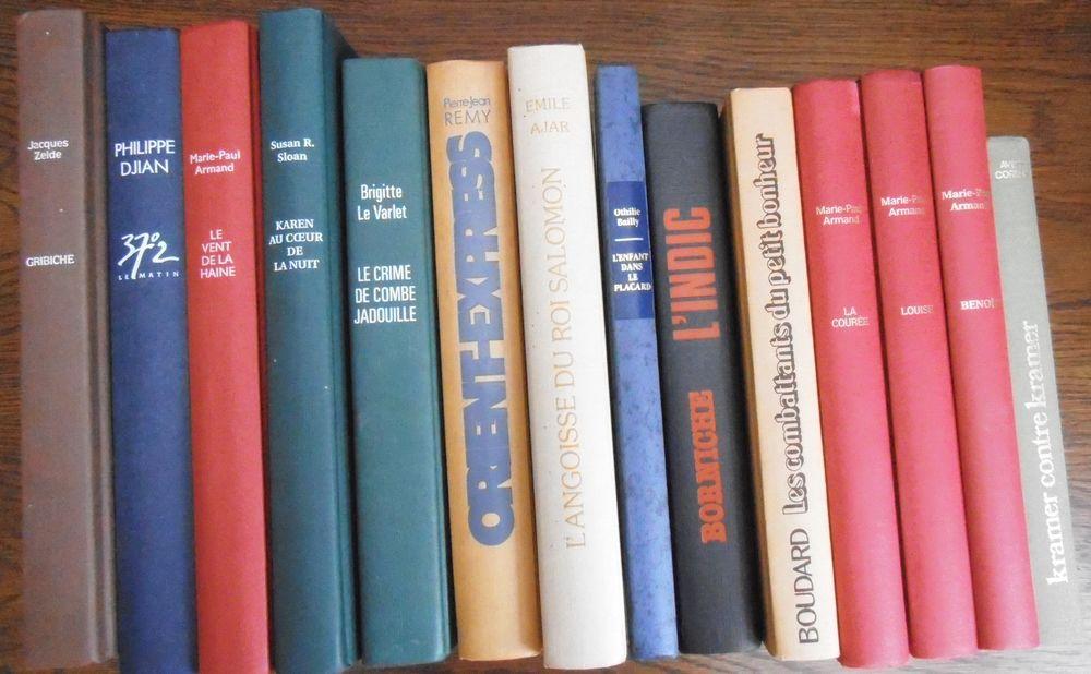 divers livres de France Loisirs : titres et auteurs 0 Attiches (59)