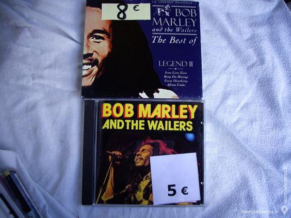 Divers CD de Bob MARLEY et de Jimmy HENDRIX 5 Bouxwiller (67)