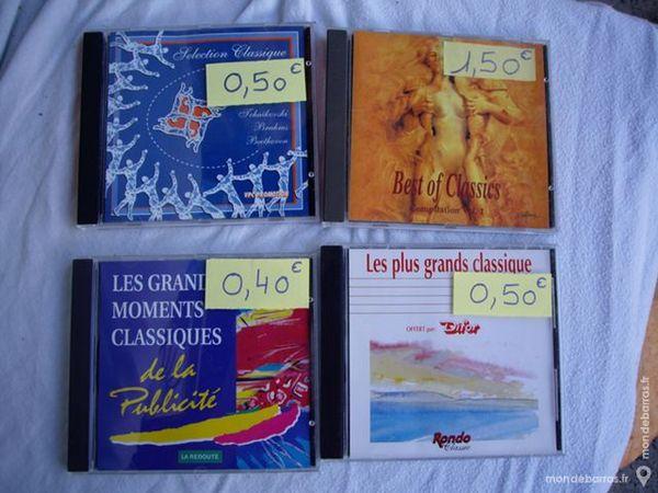 Divers CD de Musique Classique 1 Bouxwiller (67)