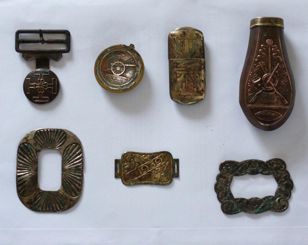 Divers objets cuivre des deux dernières guerre 55 Sanguinet (40)