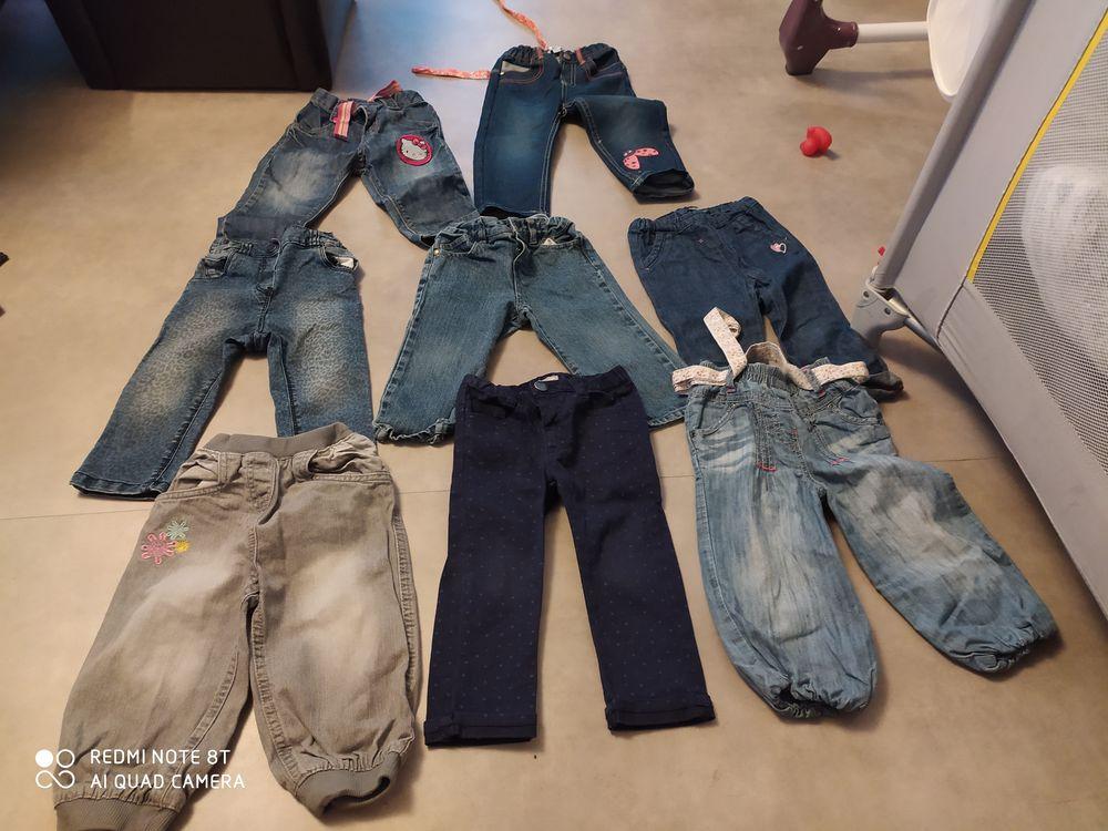 Divers pantalons fille18mois 1 Laneuveville-devant-Nancy (54)