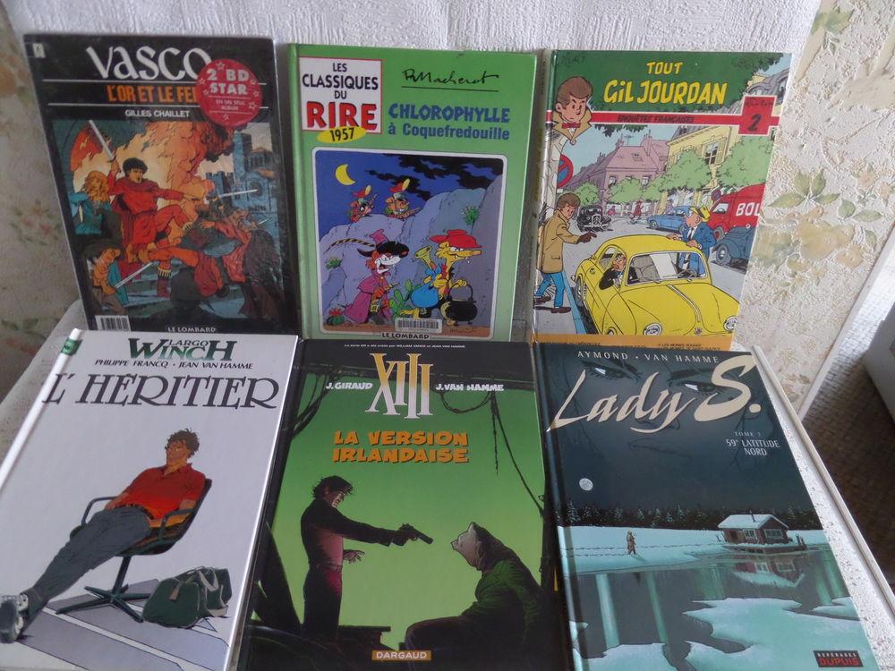 diverses bandes dessinées 4 Lyon 8 (69)