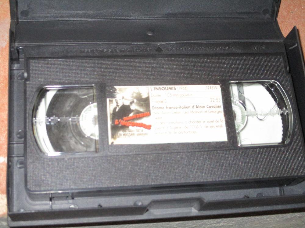 3 diverses cassettes VHS à regarder ou bricolage ou musée  0 Mérignies (59)