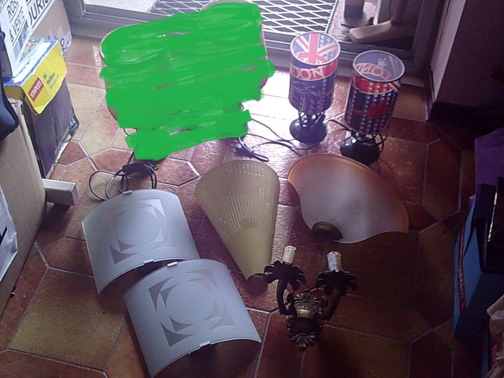 diverses Lampes, Suspensions, Applique... 1 Bouxwiller (67)