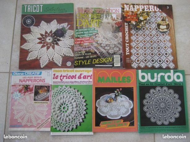 Diverses revues de crochet d'art 3 Nyons (26)