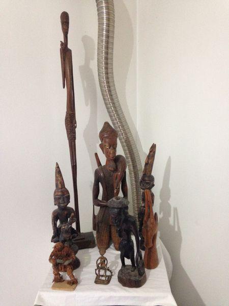 diverses statues africaine Décoration
