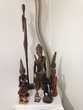 diverses statues africaine
