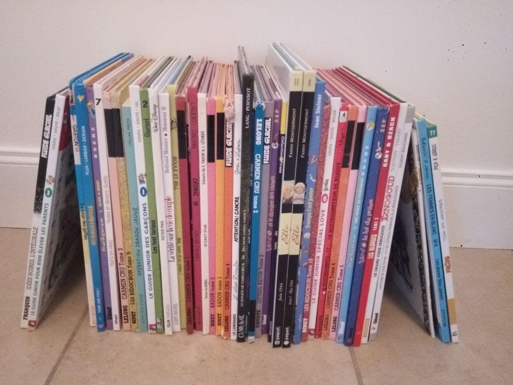 Lot de 40 BD diverses Livres et BD