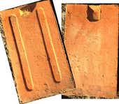 Lot (divisible) de 1 900 Tuiles plates - Bourgogne 770 Semur-en-Auxois (21)