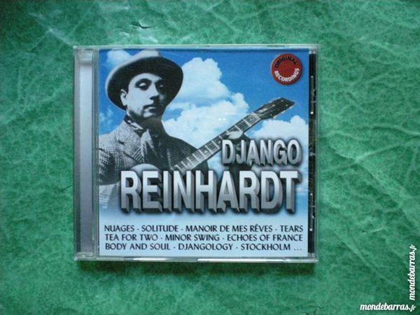 CD  Django Reinhartd  18 titres 5 Saleilles (66)