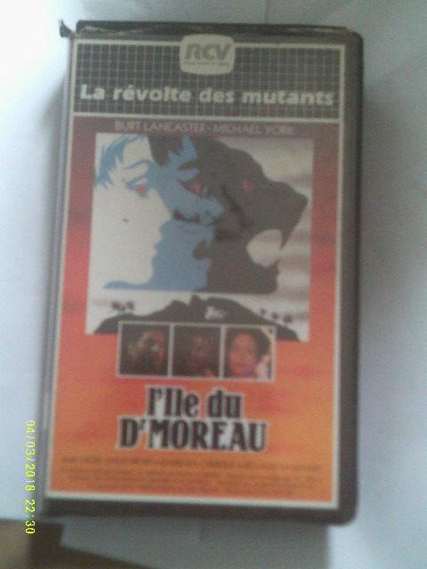 L ILE DU DOCTEUR MOREAU , DVD avec,burt Lancaster  0 Malo Les Bains (59)
