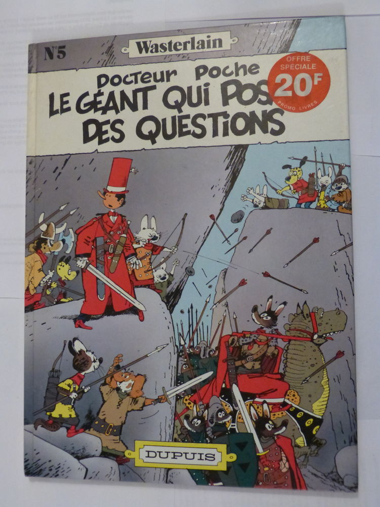 BD  -  DOCTEUR POCHE N° 5 LE GEANT QUI POSAIT DES QUESTIONS 10 Brest (29)