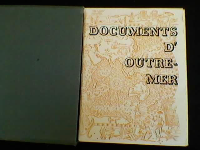 documents d'outre mer 30 Chambéry (73)
