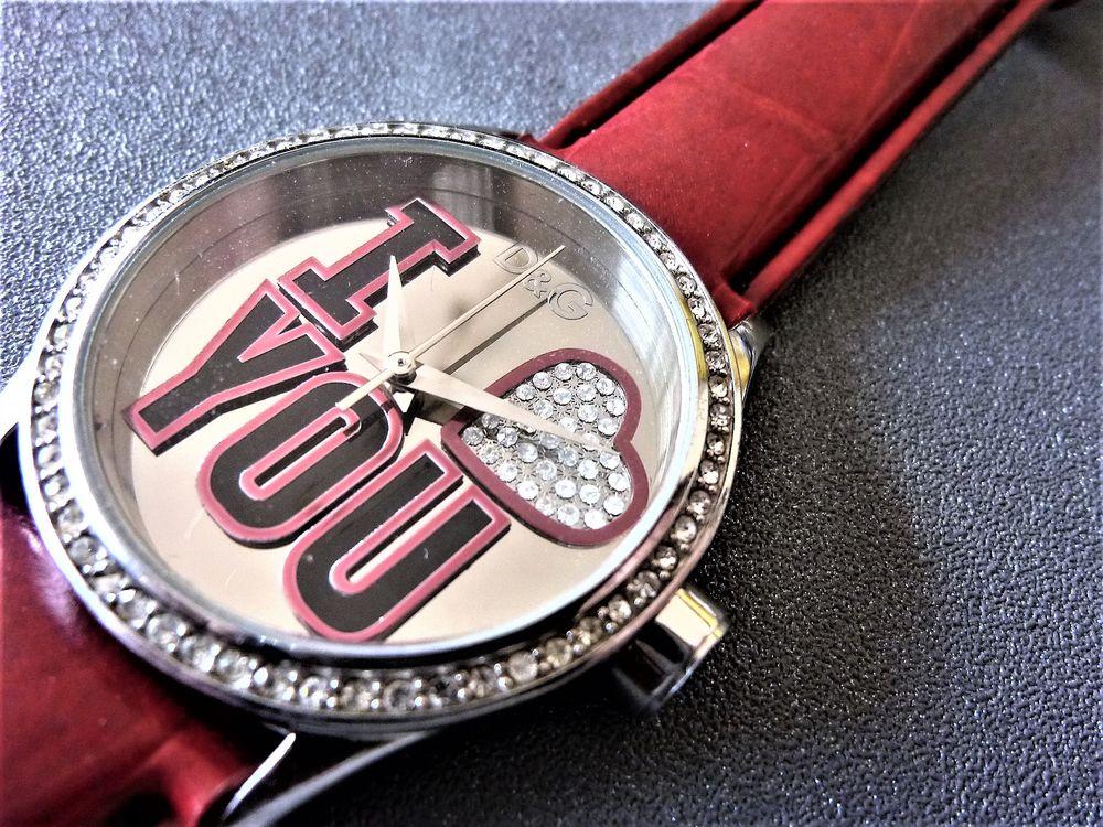 DOLCE GABBANA TIME luxury zirconi montre unisexe 2010 ANQ104 90 Metz (57)