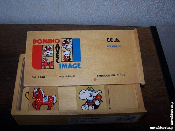 Domino en bois 8 Lyon 8 (69)