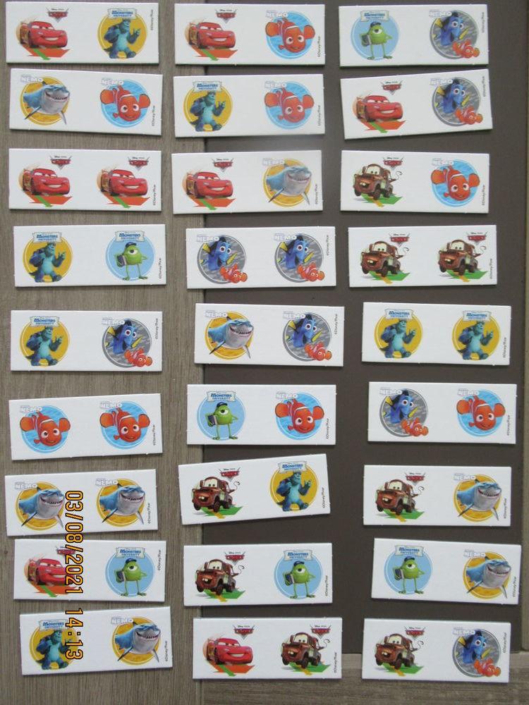 jeu de domino, mémo et cubes 8 Aizenay (85)