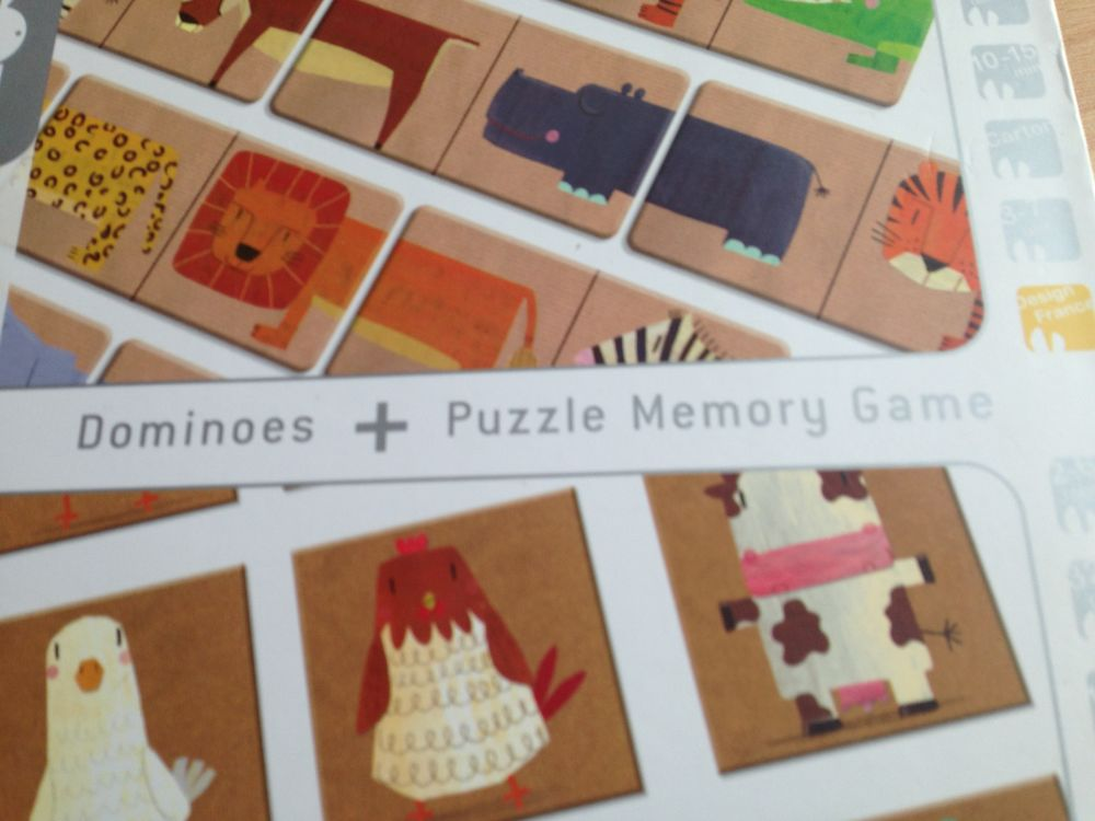 Dominos Memory Puzzle 15 Bailly-Romainvilliers (77)