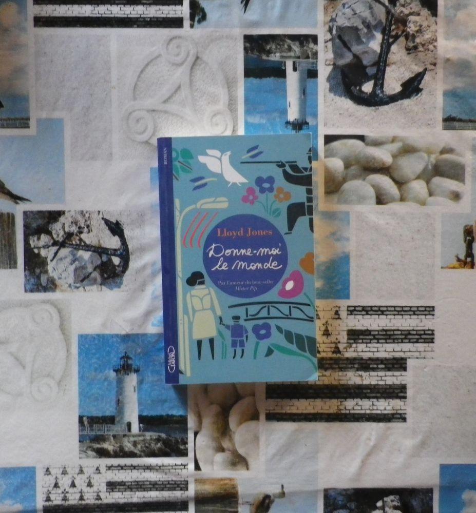 DONNE-MOI LE MONDE de Lloyd JONES Ed. Michel Lafon 5 Bubry (56)