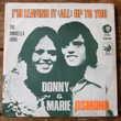 DONNY & MARIE OSMOND-45t-I'M LEAVING IT ALL UP TO YOU-Belg74 CD et vinyles