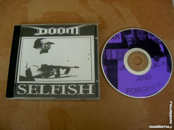 CD DOOM Selfish - Grincore 38 Nantes (44)
