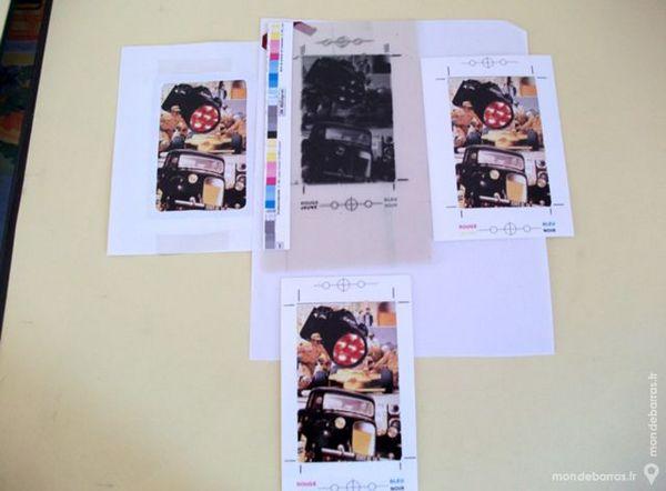 dossier complet - creation - Télécarte - d'Art- 1 Nontron (24)