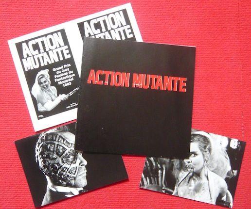 Dossier de presse de Action mutante (1993) 30 Sucy-en-Brie (94)