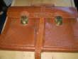 SAC Dossier - vieux sac de documents en cuir
