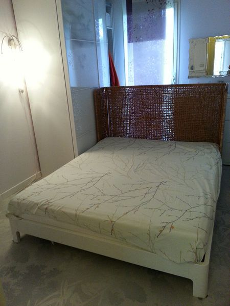 Achetez lit double 160x200cm occasion, annonce vente à